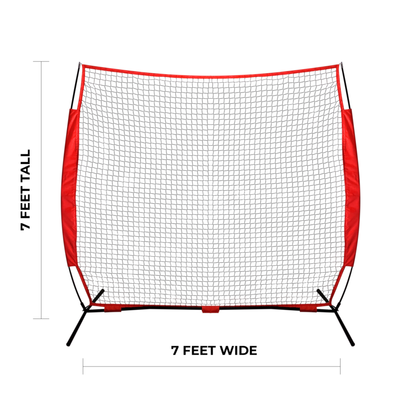 7 foot large net for catching arrows during archery practice arrowsoft sports