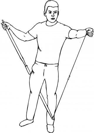 how to string a recurve bow - step 2